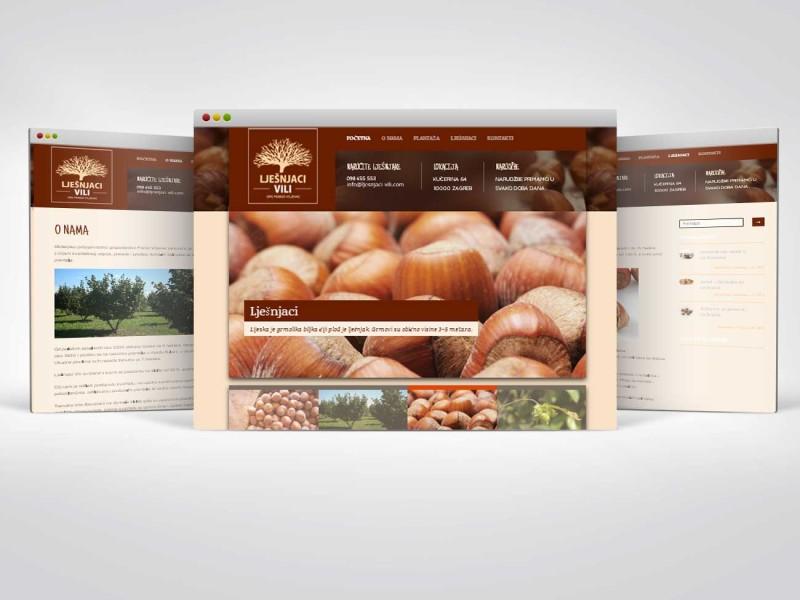 Erstellung einer Website für landwirtschaftliche Unternehmen