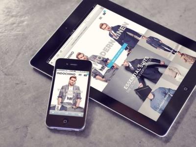 Design der Internetseiten